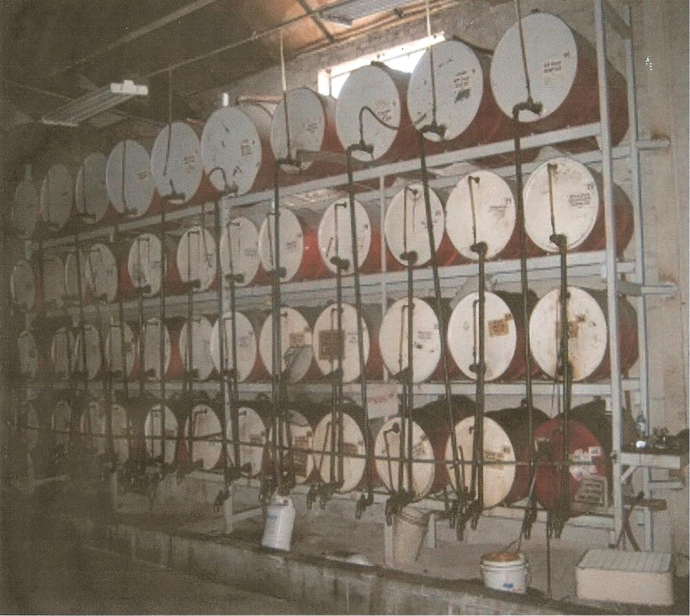 1 dispensing drums