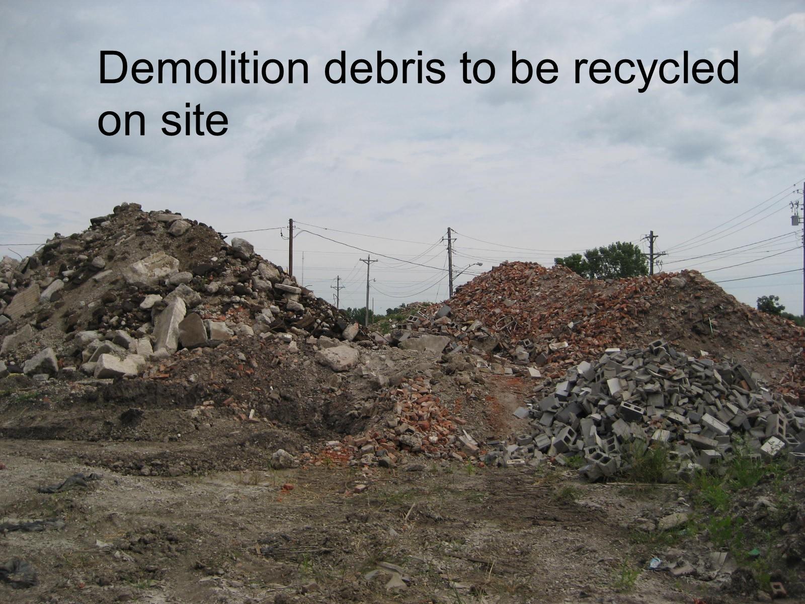 3 debris pile