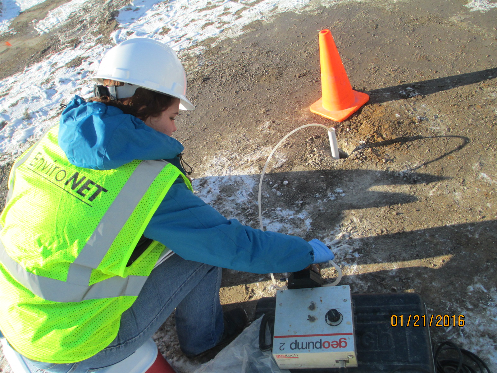 ENVIRONET can perform soil and groundwater sampling.